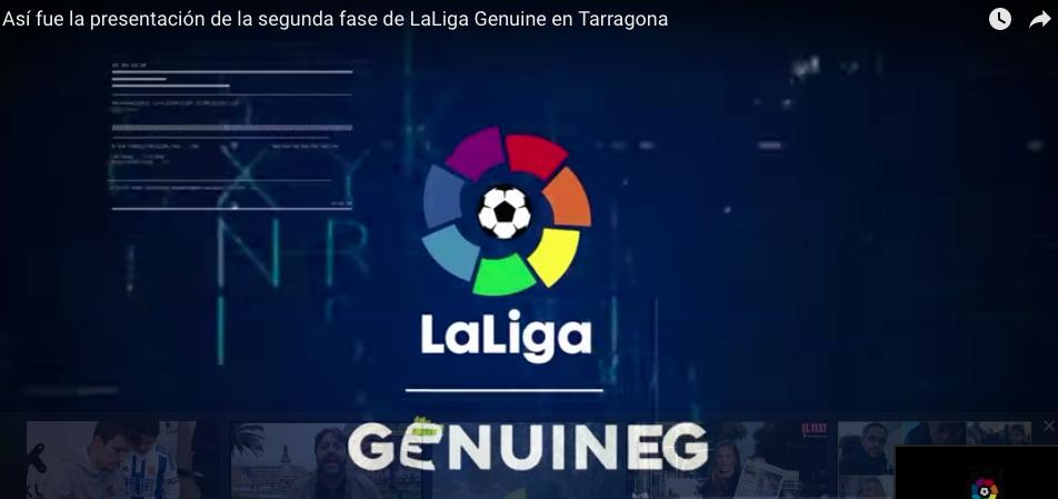 Presentación Liga Genuine