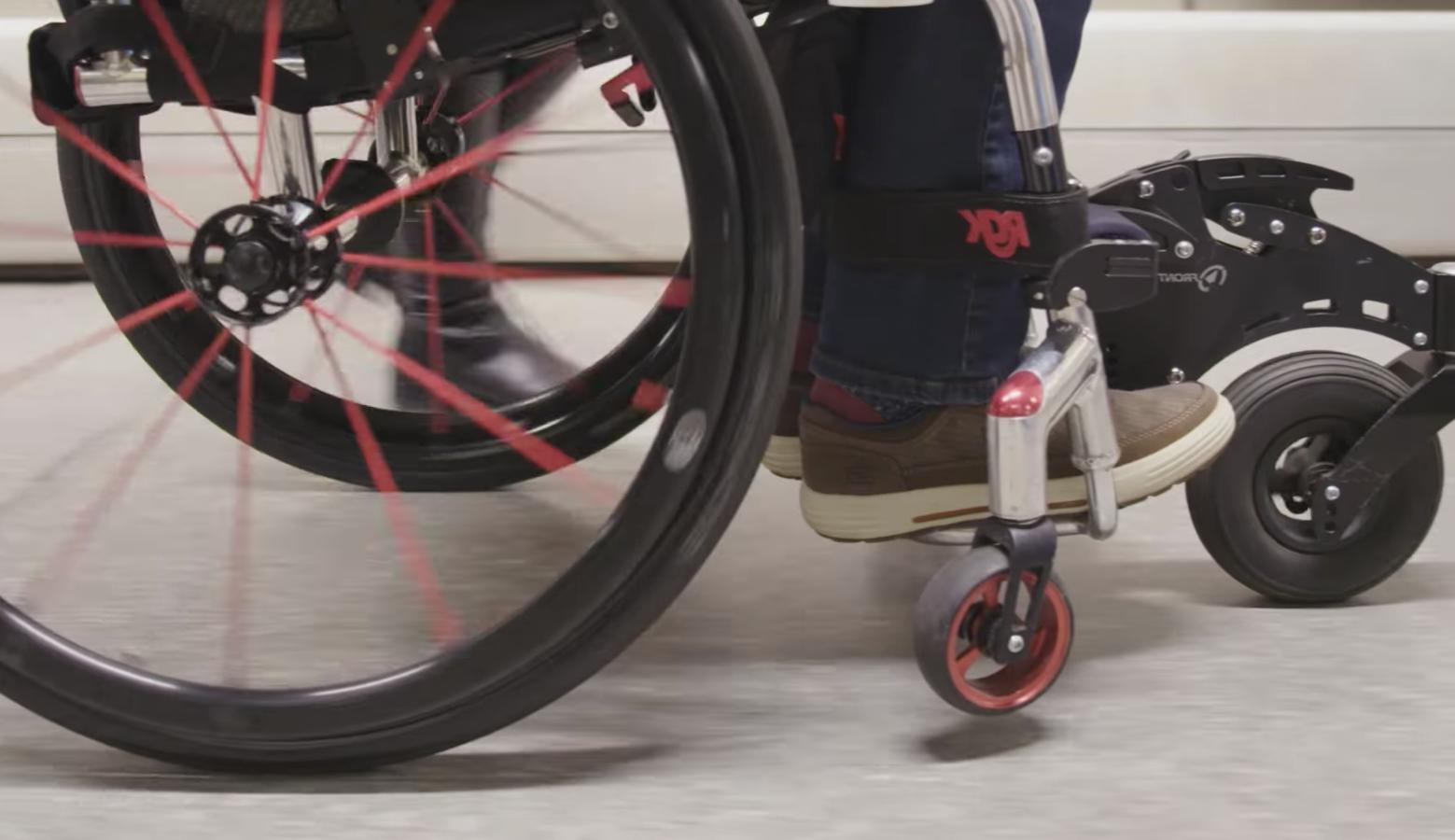 Rutas adaptadas para personas con movilidad reducida