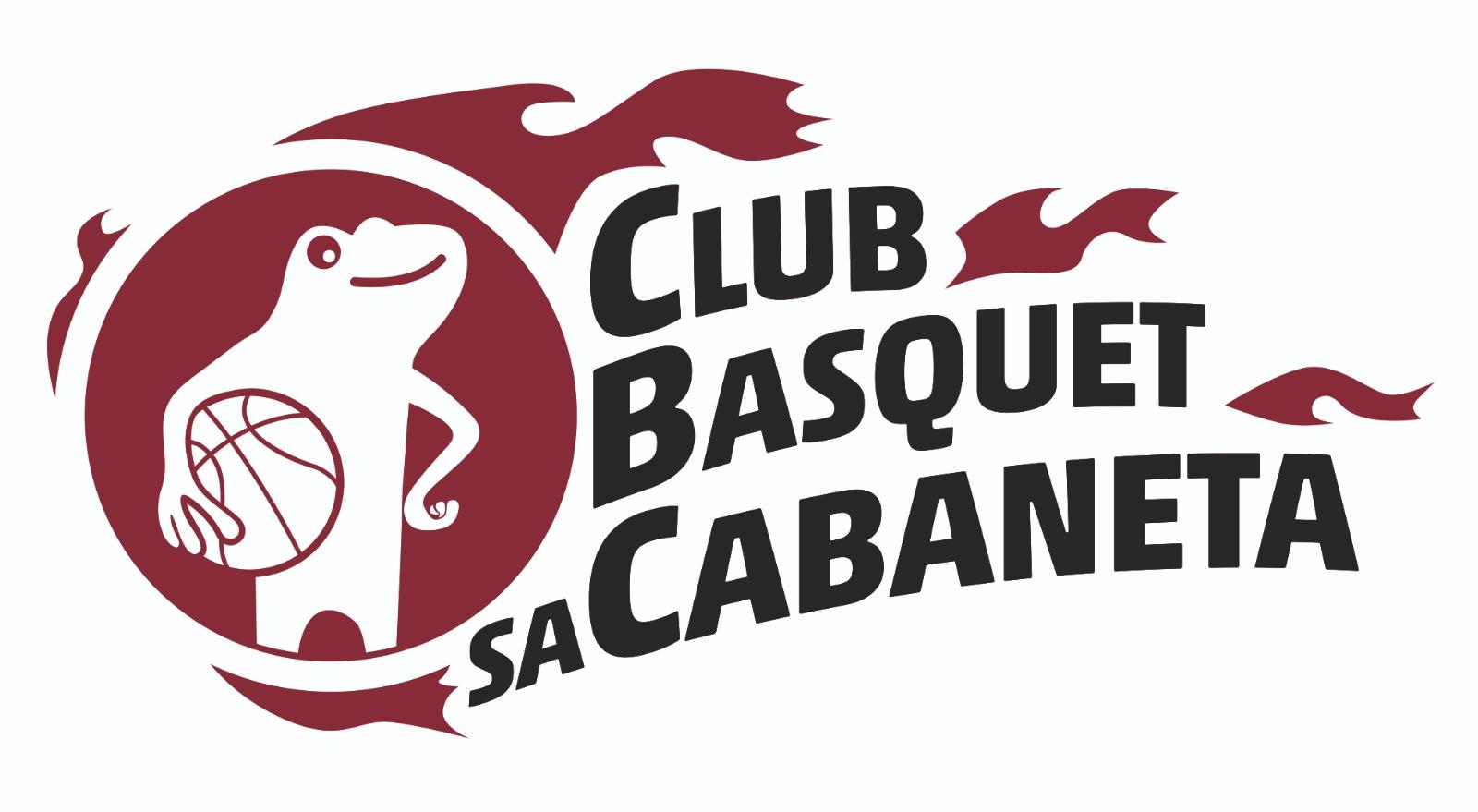 logotipo del club baloncesto sa cabaneta